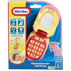 KOMÓRKA - TELEFON Z KLAPKĄ LITTLE TIKES