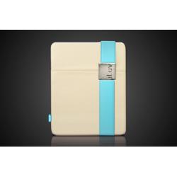 iLuv - fabric futerał etui do iPada - beżowy