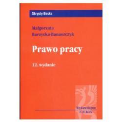 PRAWO PRACY WYD.12  Barzycka-Banaszczyk