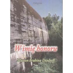 1 W IMIĘ HONORU  DONHOFF MARION