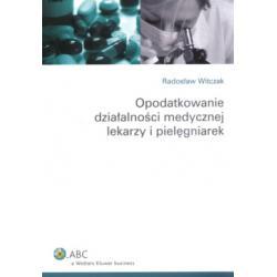 Opodatkowanie działalności medycznej lekarzy i p