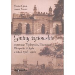 Gminy żydowskie pogranicza Wielkopolski Mazowsza