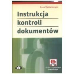 Instrukcja kontroli dokumentów + CD