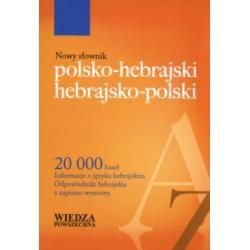Nowy słownik polsko-hebrajski hebrajsko-polski