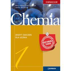 Chemia 1. Zeszyt ćwiczeń. Reforma 2009