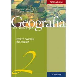 Geografia 2. Zeszyt ćwiczeń. Stara podstawa programowa