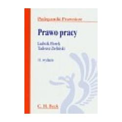 Prawo pracy Florek Zieliński wyd 11 2009