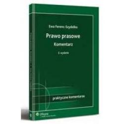 Prawo prasowe Ferenc-Szydełko stan 1.06.2010