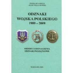1 ODZNAKI WOJSKA POLSKIEGO 1989-2009 SAWICKI