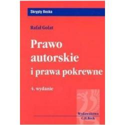 Prawo autorskie i prawa pokrewne Rafał Golat
