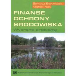 Finanse ochrony środowiska. Wybrane problemy
