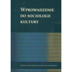 Wprowadzenie do socjologii kultury Marian Filipiak