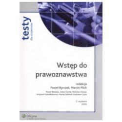 Wstęp do prawoznawstwa Testy Paweł Byrczek