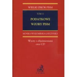 Podatkowe wzory pism + CD Wyszomirska-Łapczyńska