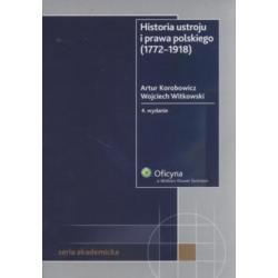 Historia ustroju i prawa polskiego (1772-1918)
