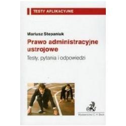 2 Testy Aplikacyjne  Prawo administracyjne materia