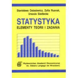 Statystyka elementy teorii i zadania Ostasiewicz
