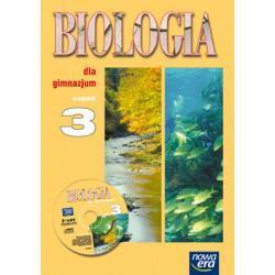 """""""Biologia dla gimnazjum"""" Cz. 3. Podręcznik + CD-ROM"""