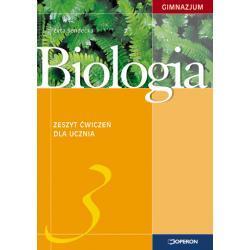 Biologia 3. Zeszyt ćwiczeń. Stara podstawa programowa