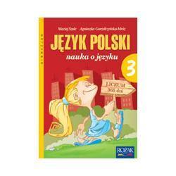 """""""Nauka o języku"""" - podręcznik kl. 3"""