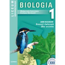 Biologia 1. Zeszyt ćwiczeń. Zakres rozszerzony
