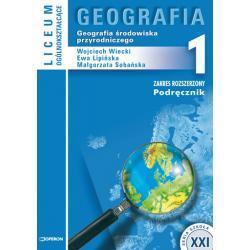Geografia 1. Geografia środowiska przyrodniczego. Podręcznik.