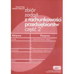 Zbiór zadań z rachunkowości przedsiębiorstw cz