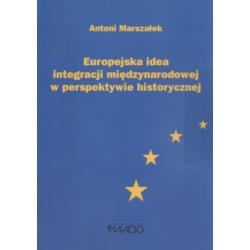 Europejska idea integracji międzynarodowej w pers