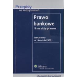 Prawo bankowe i inne akty prawne  r.2009