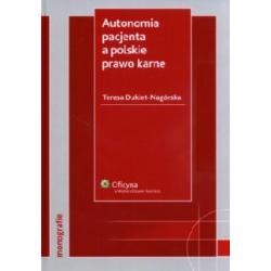 Autonomia pacjenta a polskie prawo karne  r.2008