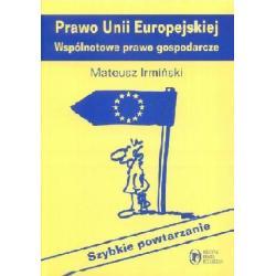 Prawo Unii Europejskiej - Wspólnotowe prawo gospo