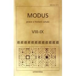 MODUS prace z historii sztuki nr VIII-IX - praca z