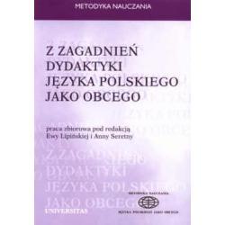 Z zagadnień dydaktyki języka polskiego jako obce
