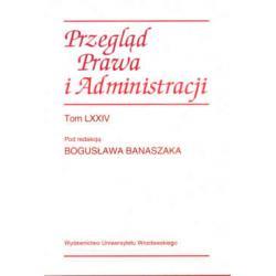 Przegląd Prawa i Administracji  r.2006