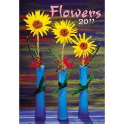 Kalendarz 2011. Flowers.  r.2010