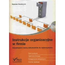Instrukcje organizacyjne w firmie + CD - Interakty