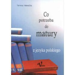 Co potrzeba do matury z języka polskiego  r.2005