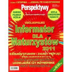 INFORMATOR DLA MATURZYSTY 2011 OPRACOWANIE ZBIOROW