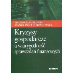 Kryzysy gospodarcze a wiarygodność sprawozdań f