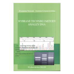 0 Wybrane techniki i metody analizy DNA  Nowak Z