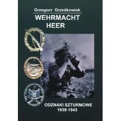 Wehrmacht Heer Odznaki szturmowe 1939-1943