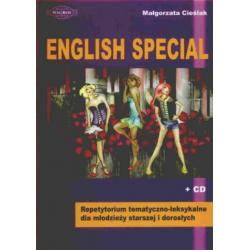 0 English special + CD Repetytorium tematyczno-lek