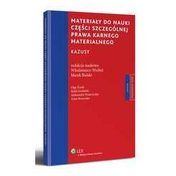0 Materiały do nauki części szczególnej prawa karn