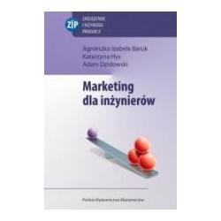 0 Marketing dla inżynierów Agnieszka Baruk