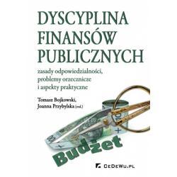 0 Dyscyplina finansów publicznych Zasady odpowiedz