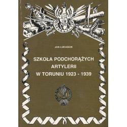 Szkoła podchorążych artylerii w Toruniu 1923-1939