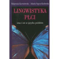 0 Lingwistyka płci Ona i on w języku polskim