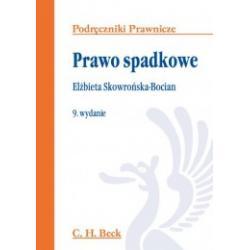 0 Prawo spadkowe Wydanie 9 Elżbieta Skowrońska-Boc