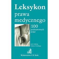 0 Leksykon prawa medycznego 100 podstawowych pojęć