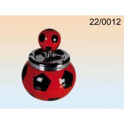 Ceramiczna popielniczka piłka